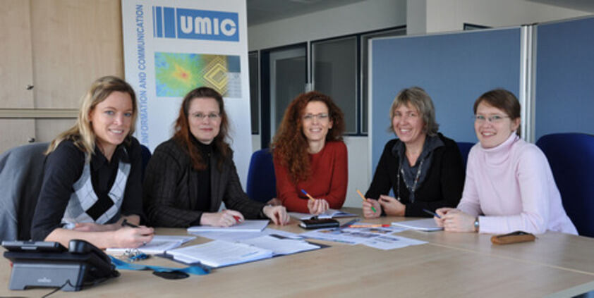 Winners from the UMIC Excellence Cluster of Brigitte Gilles Prize 2008
